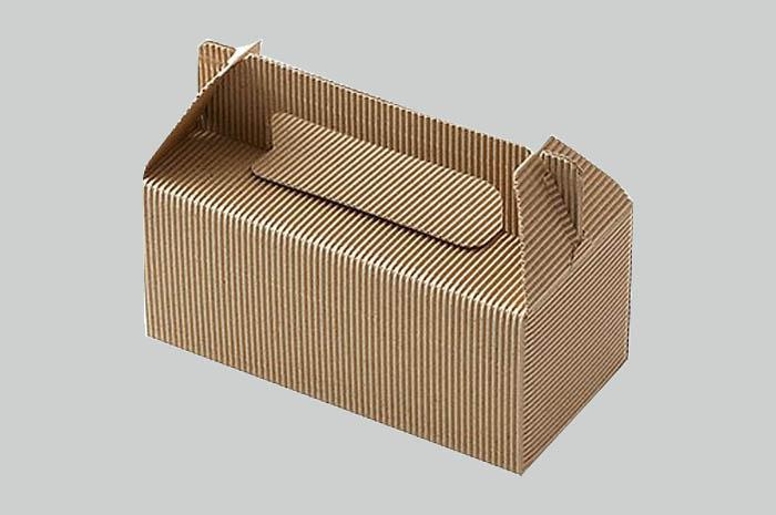 片段手提げBOX クラフト